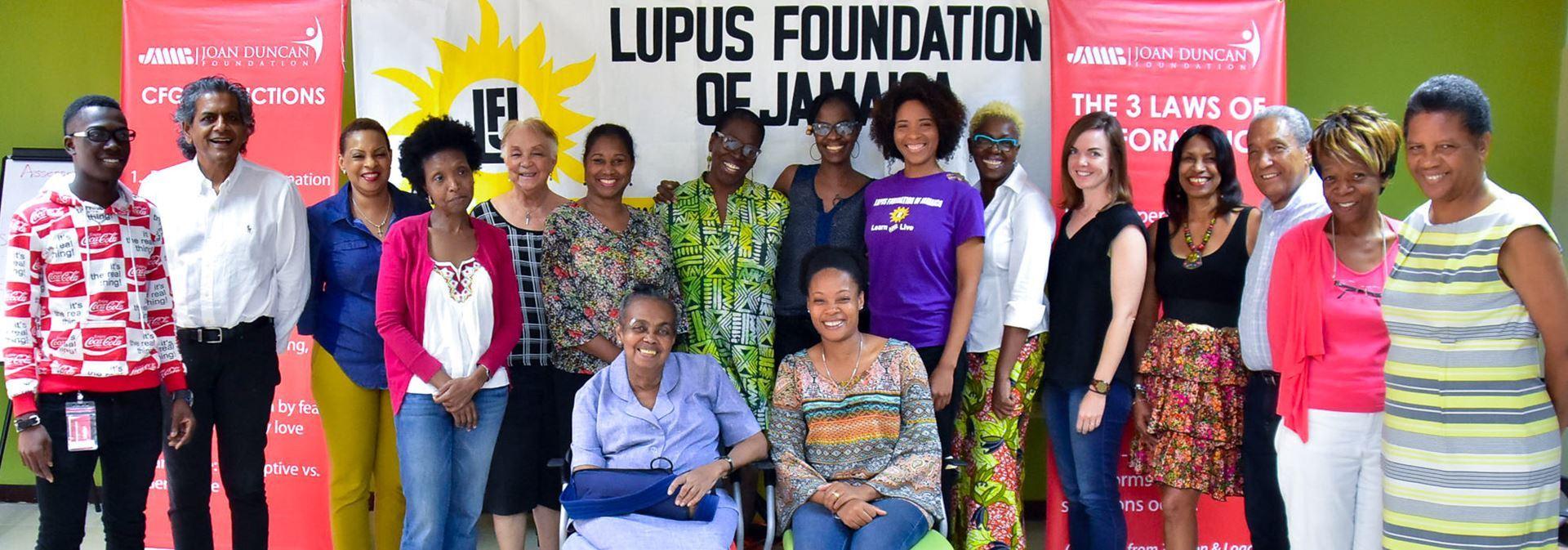 Lupus Foundation of Jamaica - Home